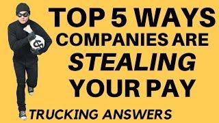 Top 5 Trucking Company Tricks
