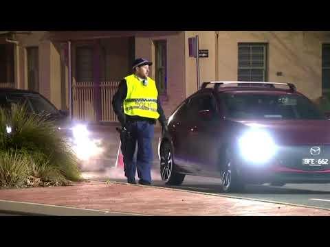Australian police lock