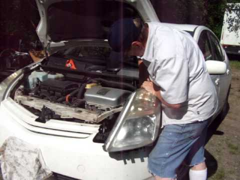 Toyota Prius Hid Headlight Replacement With 230 000 Miles