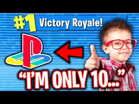 BEST 10 YEAR OLD FORTNITE CONSOLE PLAYER CARRIES ME ON PC!!