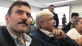 Presenta López Obrador a equipo de seguridad