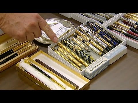 Visiting with Huell Howser: Pen Collectors