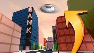 FLYING UFO IN JAILBREAK!! *ALIEN UPDATE* (Roblox)