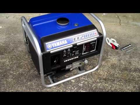 Yamaha ef1000 generator fishfun83 funnydog tv for Yamaha inverter generator vs honda