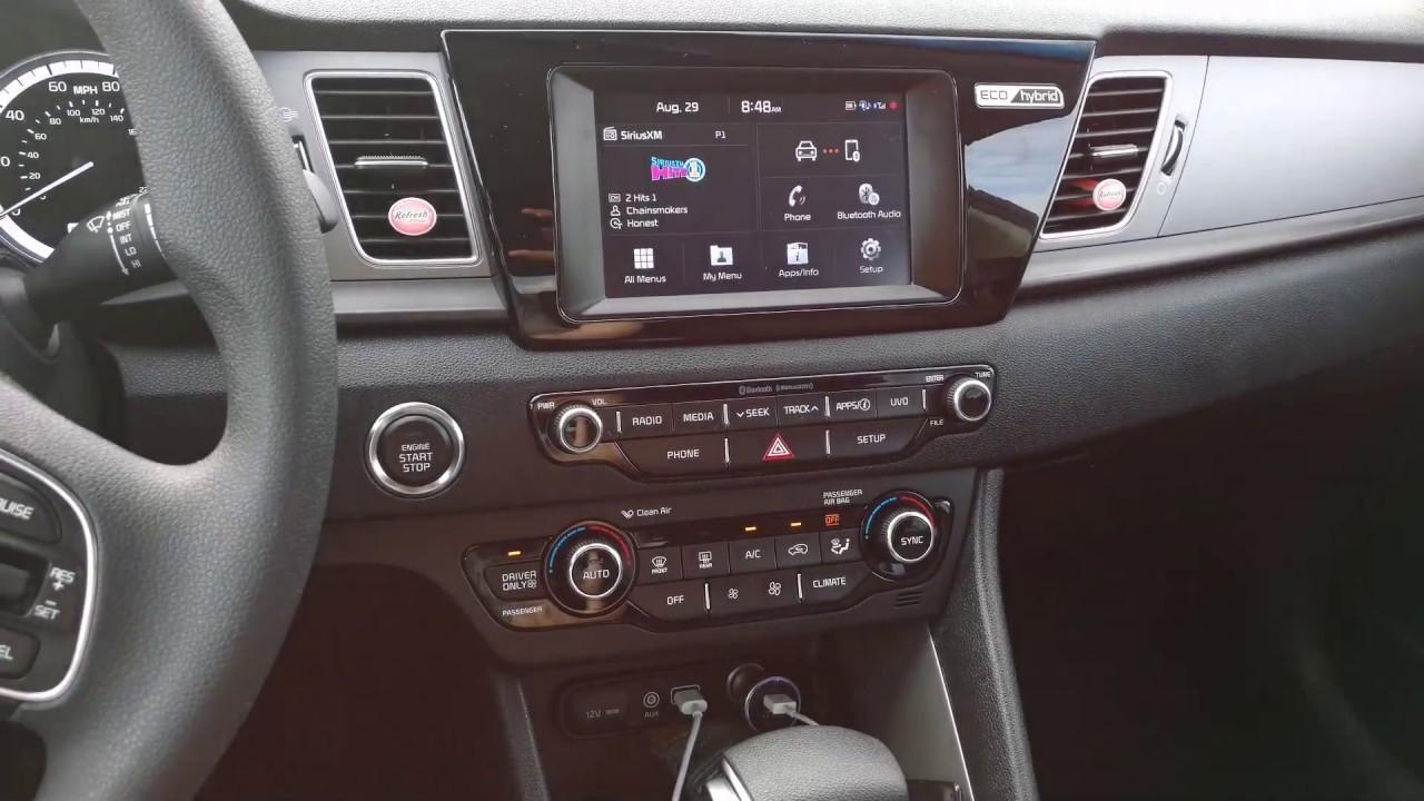 2017 Kia Niro Lx Hybrid Infotainment System Car Radio Siriusxm Android Auto Le Play