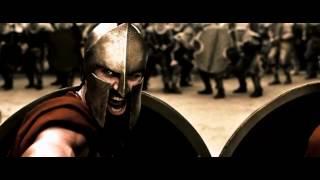 Смотреть клип 300 Спартанцев) клип РЅР° песню))) онлайн