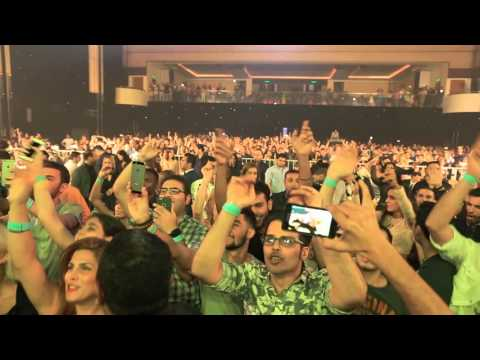 Arash Concert in Malaysia 2016 - کنسرت استثنایی آرش در مالزی  6 فروردین 1395