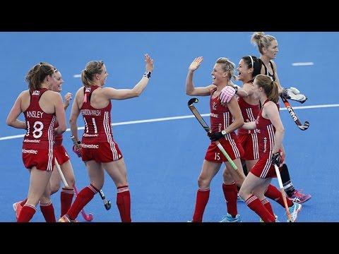 Team GB Olympic Hockey champions- Maddie Hinch, Sam Quek & Susannah Townsend