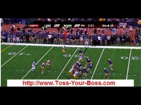 Bad Ass USC Trojans  vs Washington huskies loss 2009  Football HIGHLIGHTS | lose