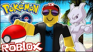 ROBLOX ADVENTURES | CATCHING MEWTWO WITH THE BIGGEST POKEMON LURE EVER! (Roblox Pokemon Go)