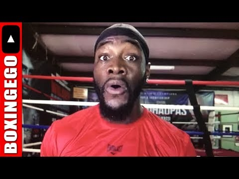 Live Chat: Deontay Wilder Pitbull Vicious in latest Anthony Joshua CALLOUT (Wow!!) #WeLive