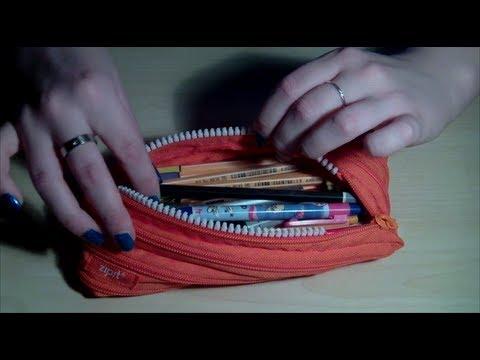 ASMR Prop Swop: Sorting a Pencil Case