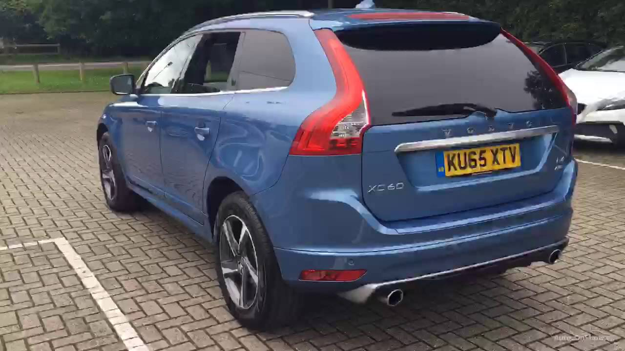 volvo xc60 d4 r design lux nav awd blue 2015 youtube. Black Bedroom Furniture Sets. Home Design Ideas