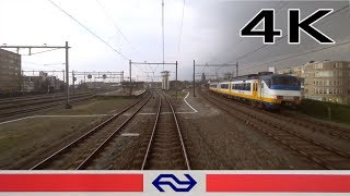 4K CABVIEW HOLLAND Amsterdam - Almere VIRM 2apr 2019