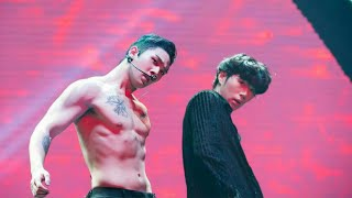 Kpop idols kissing * Male Version * 😍😍😘