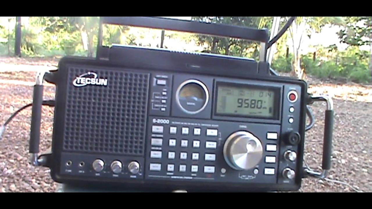 9580 KHz Radio Australia Shortwave 31 Meters Band December 2016