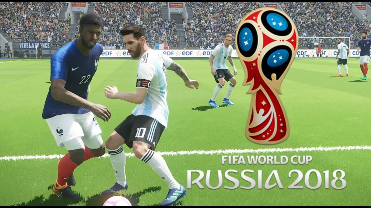 France Vs Argentine Huitième De Finale Coupe Du Monde 2018 Russie 04 Pes 2018