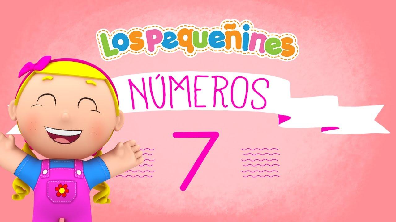 Los Pequeñines - Actividades | NÚMEROS - 7