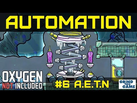NEW AUTOMATION BASE #6 - Anti Entropy Thermo-Nullifier - Oxygen Not Included Automation Upgrade