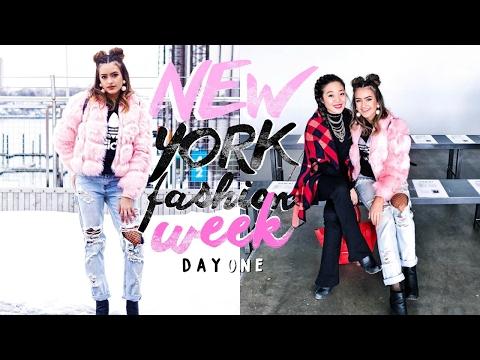 NEW YORK FASHION WEEK DAY 1 Vlog   Natalie Barbu