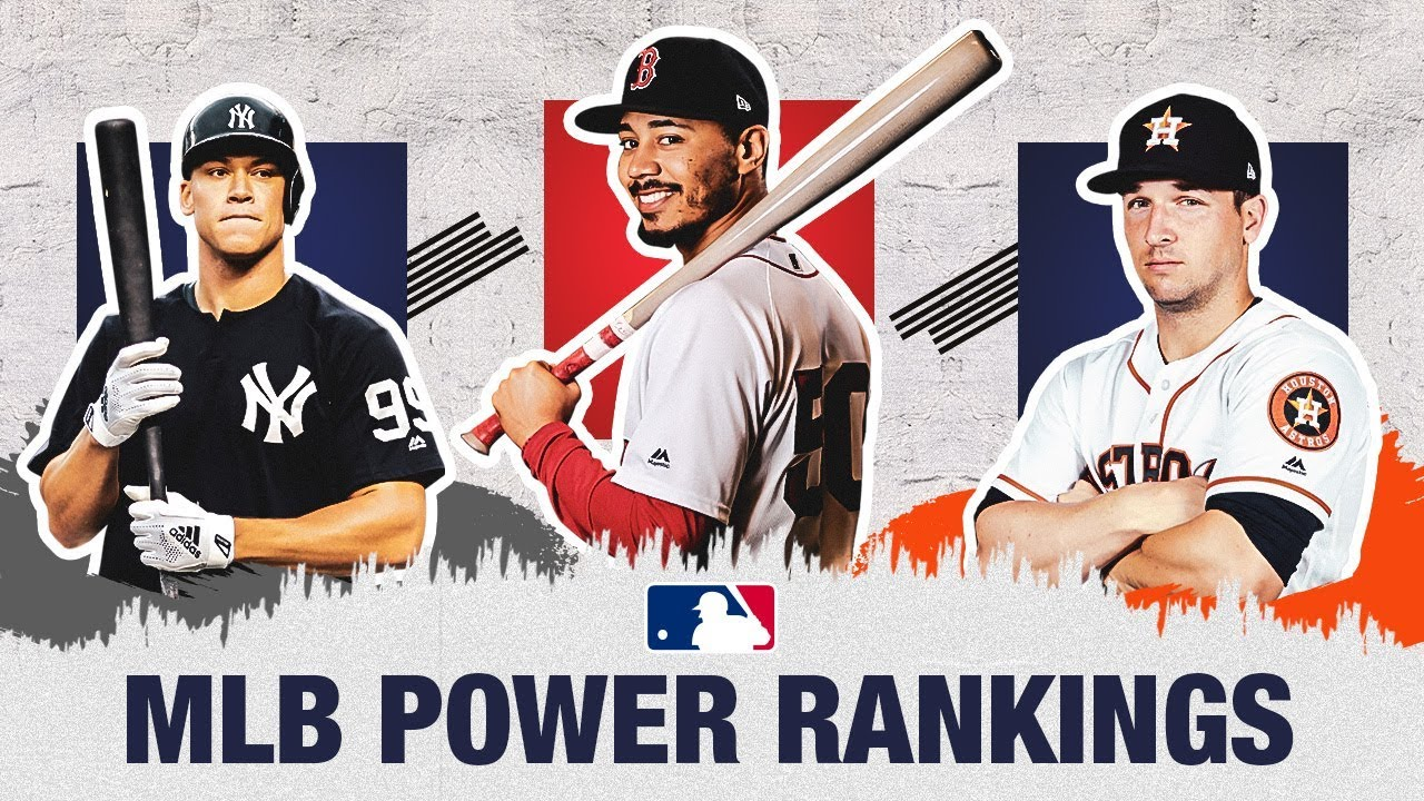2019 MLB Power Rankings: Opening Day has finally arrived