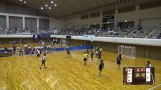 5日 ハンドボール男子 あづま総合体育館 Aコート 青森×香川中央 1回戦 2