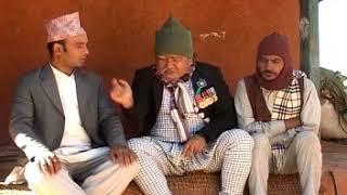 गीत गाउन तक्मेलाई मागेको पैसा माग्नेले तिर्न नसकेपछि || Magne Budo, Nepali Comedy Clip Meri Bassai