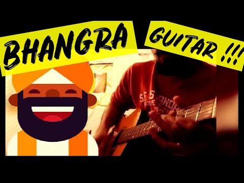 Punjabi BHANGRA on GUITAR !!!
