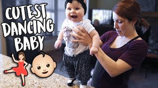 The CUTEST Dancing Baby You'll Ever See!
