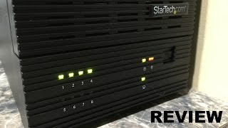 StarTech.com 8-Bay Review in 4K UltraHD