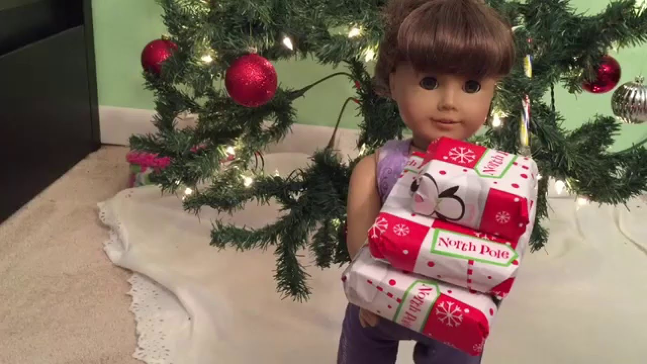 How to make christmas decorations for your ag doll -  How To Make Presents For Your Ag Dolls