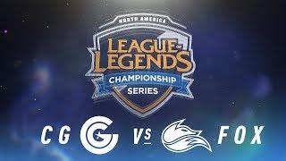 Video CG vs. FOX - Week 8 Day 1 | NA LCS Spring Split | Clutch Gaming vs. Echo Fox (2018) download MP3, 3GP, MP4, WEBM, AVI, FLV Juni 2018