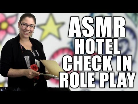 ASMR Hotel Check In Role Play - Soft Spoken Hotel Front Desk Receptionist RP