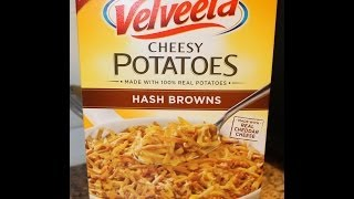Velveeta Cheesy Potatoes: Hash Browns Review