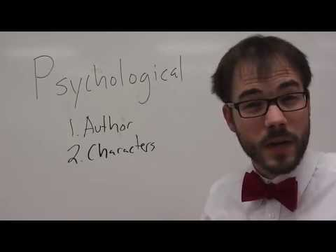 What Is Psychological Criticism?