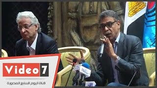 جمال فهمى: محمد حسنين هيكل هو زعيم هذه الأمة وحكيم مهنتنا
