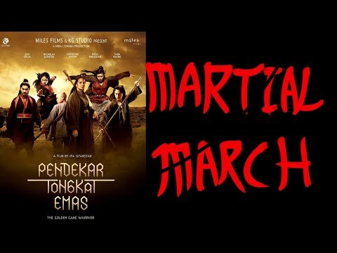 The Golden Cane Warrior - Martial March
