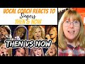 Vocal Coach Reacts to Singers Then & Now - Mariah, Selena, Christina, Adele, Taylor & More