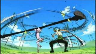 Zoro vs Sanji - Davy Back Fight