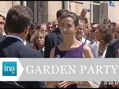 Ingrid Betancourt, invitée d'honneur de la garden party du 14 juillet - Archive vidéo INA