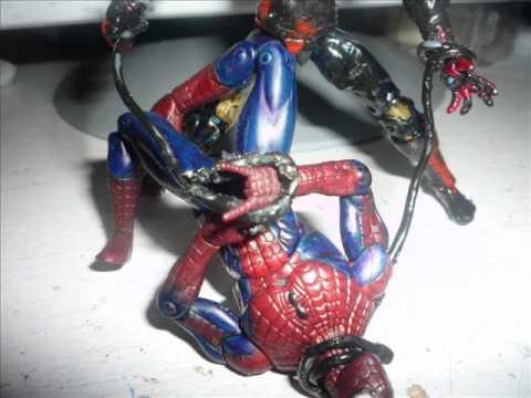 Spider-man Web of Shadows/Marvel Universe Custom Symbiote ...