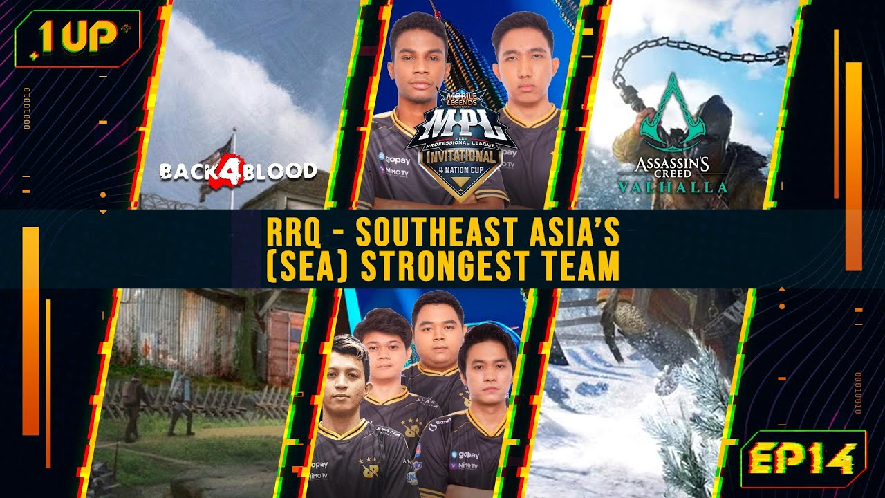 RRQ - Southeast Asia's (SEA) strongest team?! - 1UP Episode 14