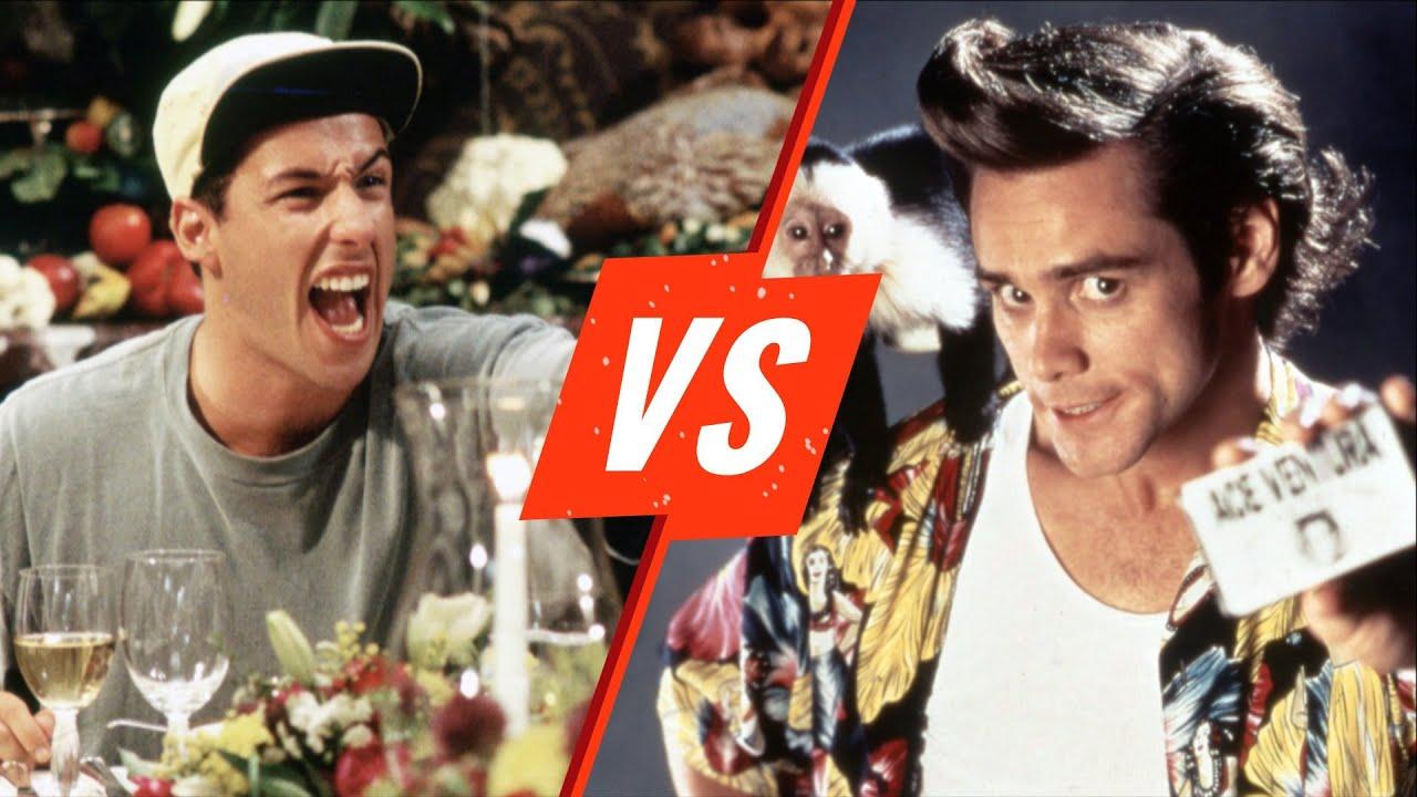 Jim Carrey vs. Adam Sandler | Rotten Tomatoes