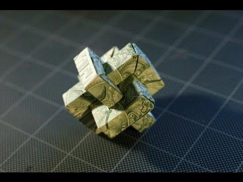 Dollar Origami: $3 Umulius Rectangulum