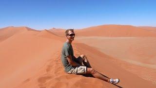 Unglaublich! Die höchsten Dünen der Welt - Sossusvlei Namibia | VLOG #175