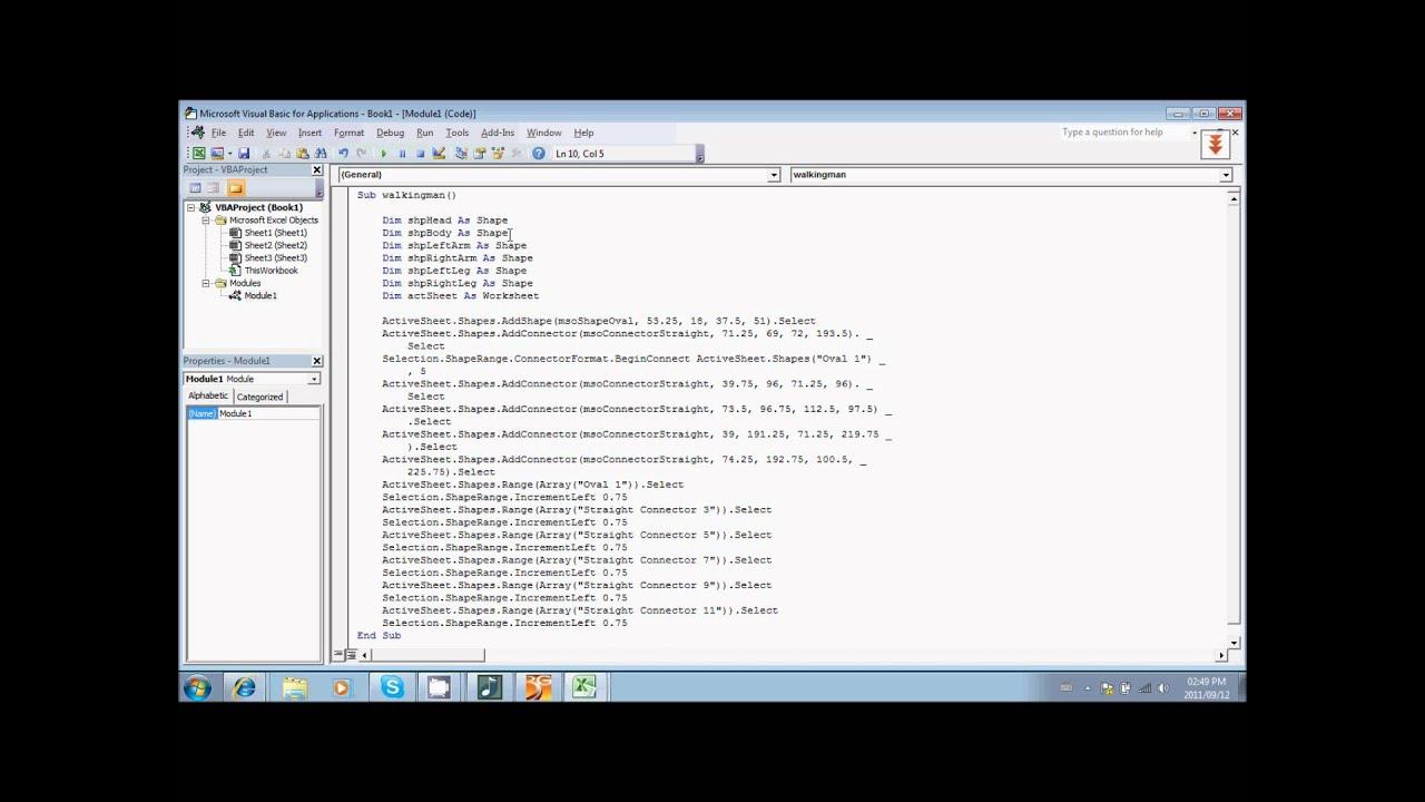 Simple Programming Tutorial Excel Vba