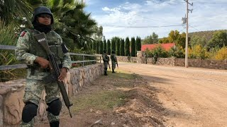 National Guard patrols outside Mormon community in Mexico after massacre | AFP