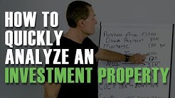 How To Quickly Analyze An Investment Property By Rod Khleif