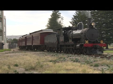 """Steam Ranger's """"Cockle Train"""" at Victor Harbour"""