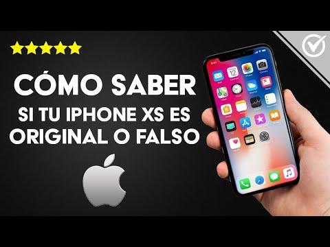 Cómo Saber si un iPhone XS, Plus, o Max es Original, Falso o clon